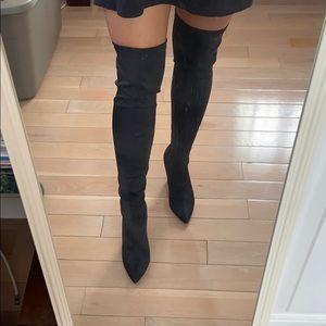 Thigh high boots